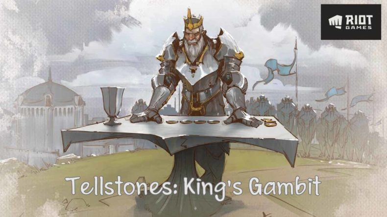 Riot Tabletop Tellstones: King's Gambit