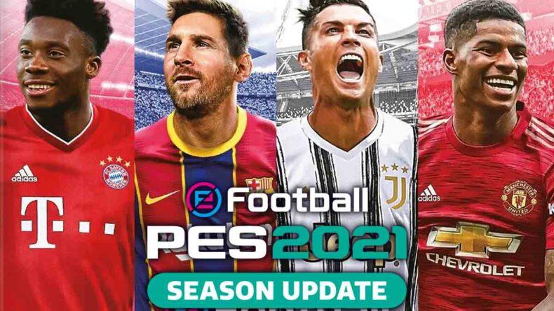 eFootball PES 2021 SEASON UPDATE DATA PACK 3.0