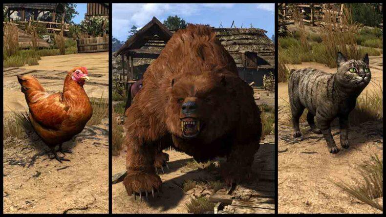 The Witcher 3: Wild Hunt, HDAR - HD Animals Reworked