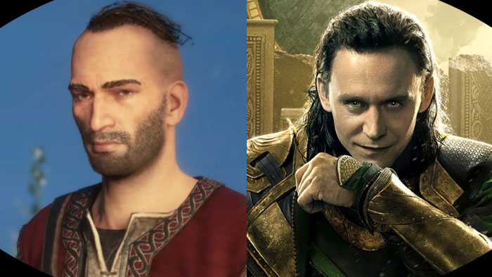 Assassin's Creed Valhalla, Marvel Universe, Loki