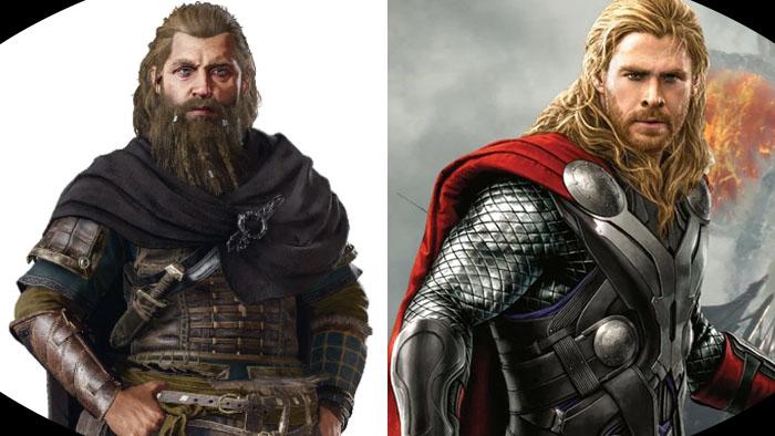 Assassin's Creed Valhalla, Marvel Universe, Thor