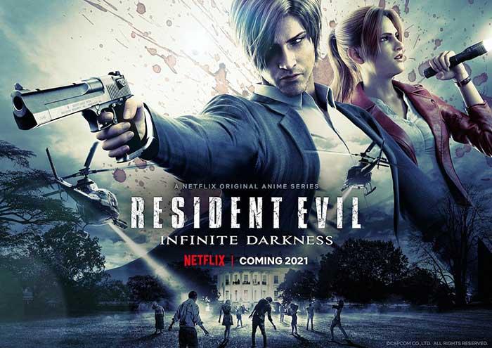 Resident Evil: Infinite Darkness, Netflix