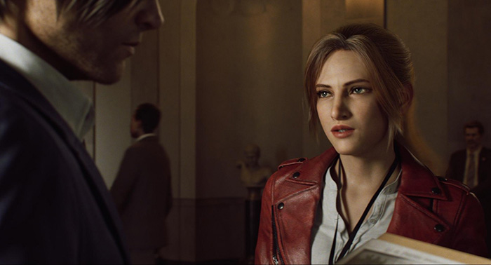 Resident Evil: Infinite Darkness, Leon S. Kennedy, Claire Redfield