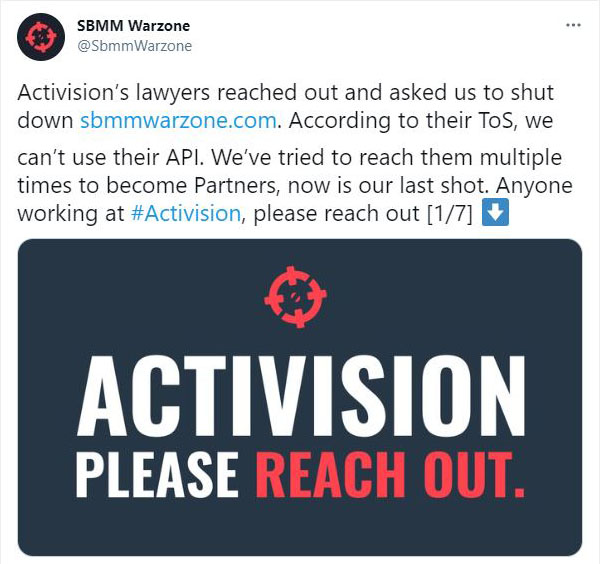 SBMM Warzone, Call of Duty: Warzone, twitter