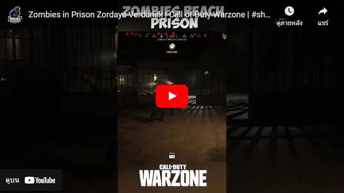 Call of Duty: Warzone, Zombie, Zordaya