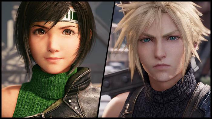 Final Fantasy VII Remake Intergrade, Yuffie Kisaragi, Cloud Strife