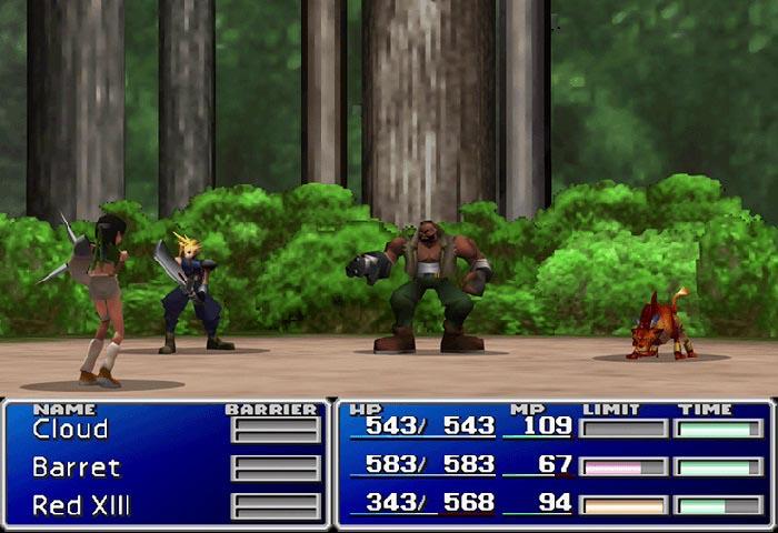 Final Fantasy VII , Yuffie Kisaragi, Cloud Strife