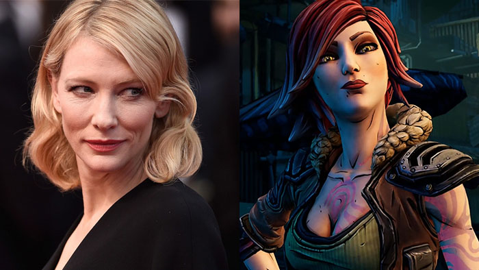 Borderlands Movies, Borderlands Live Action, Cate Blanchett, Lilith