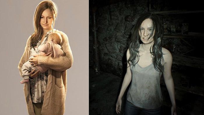 Resident Evil Village, Mia Winters