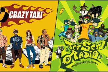 Sega, Crazy Taxi, Jet Set Radio, Crazy Taxi Reboot, Jet Set Radio Reboot