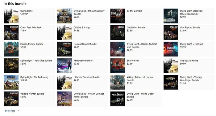 Microsoft Store, Dying Light Platinum Edition