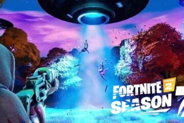 Fortnite Chapter 2 Season 7, UFO