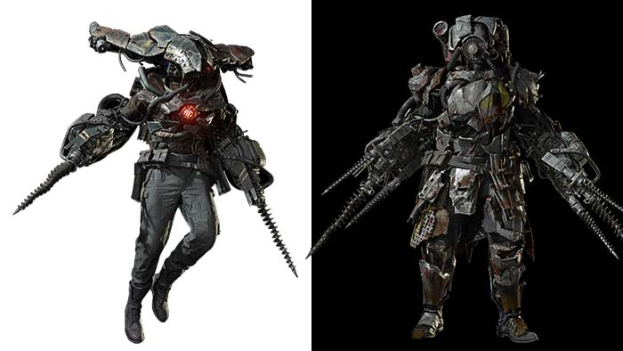 Resident Evil Village Enemie, Resident Evil Village, Soldat, Jet, Panzer