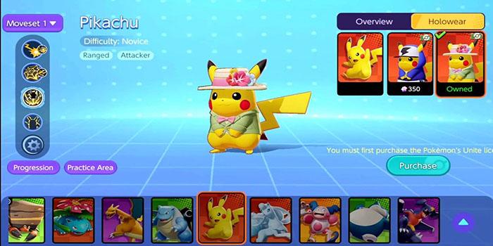 Pokémon UNITE, New Skins