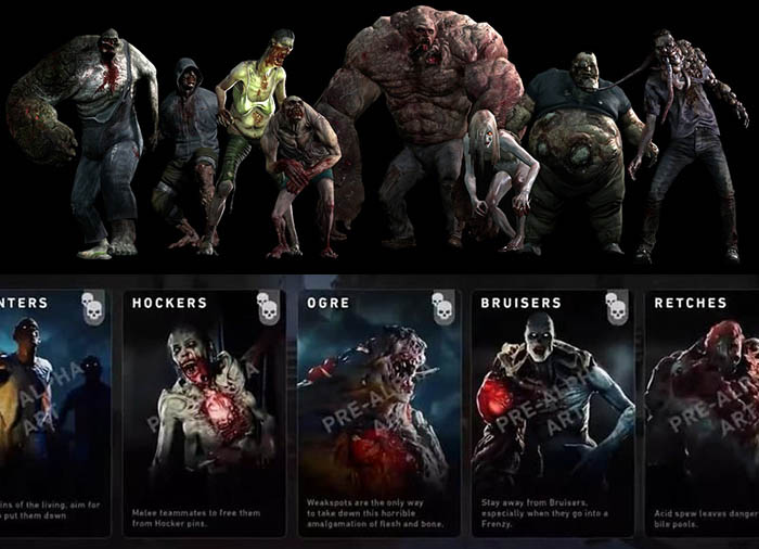 Back 4 Blood, Back 4 Blood PvP, Back 4 Blood Special Infected, Left 4 Dead Special Infected, Summer Game Fest