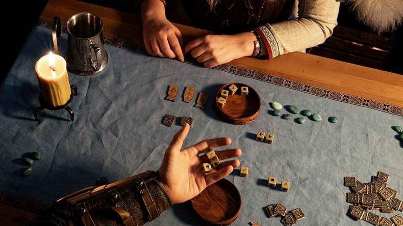 Orlog Dice Game, Assassin's Creed Valhalla, Kickstarter, PureArts