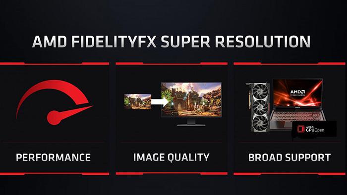 AMD FidelityFX Super Resolution, AMD FSR, FSR