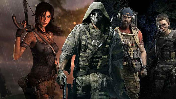 Ghost Recon 20th Anniversary, Ghost Recon Breakpoint, Ghost Recon Breakpoint Crossover Tomb Raider