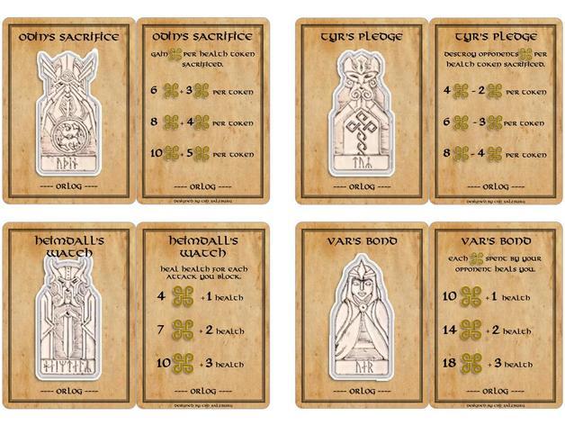 Orlog Dice Game, Assassin's Creed Valhalla, Kickstarter, PureArts, God Favors