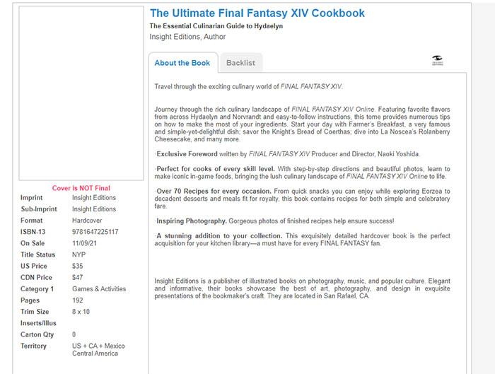 Online Bookstores, Final Fantasy XIV Food, Final Fantasy 14 Food, Wario64 twitter