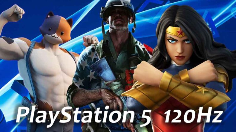 PlayStation 5, 120Hz Refresh Rate