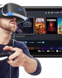 VR Game, Steam Deck