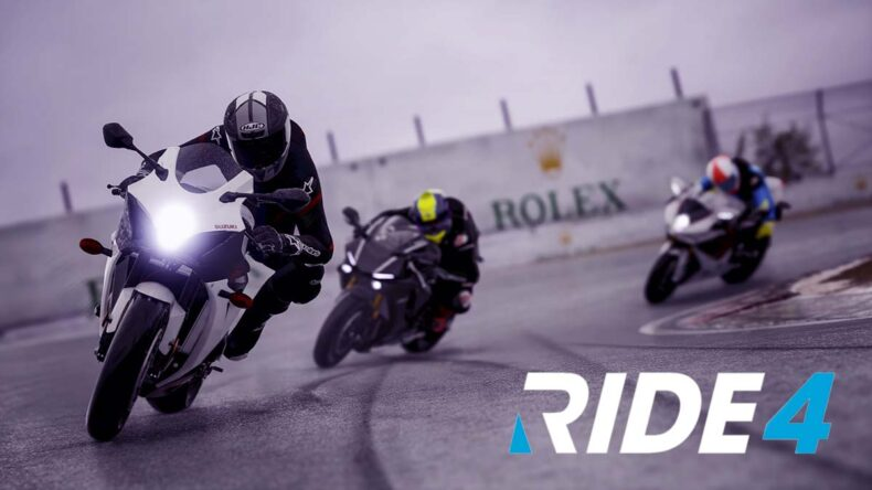RIDE 4, PlayStation 5, 4K, 60fps, First Person