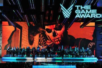The Game Awards 2021, Video Game Soundtracks Highlighted, Video Game Soundtracks on stage, Geoff Keighley