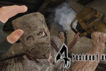 Resident Evil 4 VR, Oculus Quest 2, Dialogue Censored