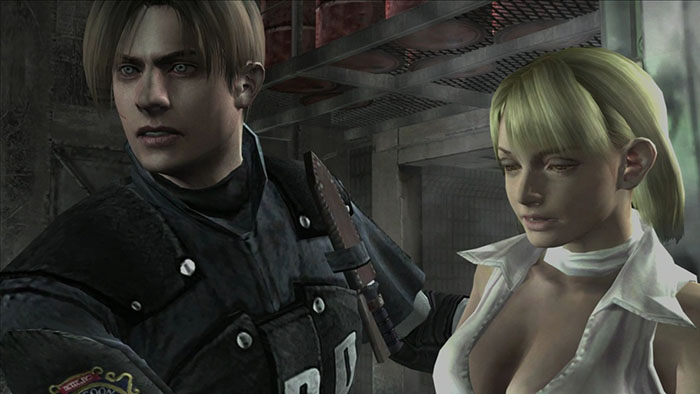 Resident Evil 4 VR, Oculus Quest 2, Dialogue Censored, Ashley Graham
